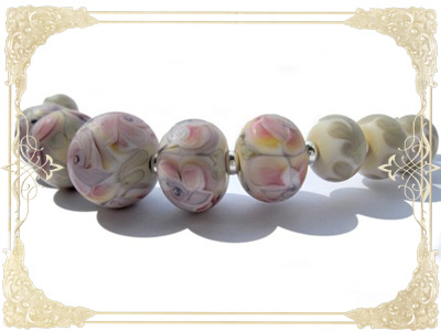 Romantic Flower Beads & Spacers
