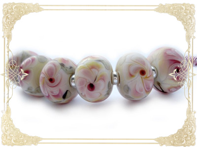Romantic Victorian Flower Beadset